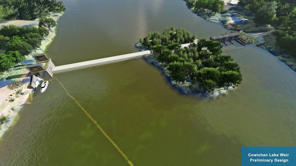 Cowichan Lake Weir Preliminary Design